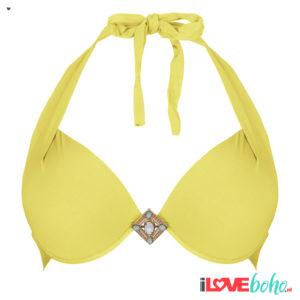 BOHO bikini top - supreme - yellow