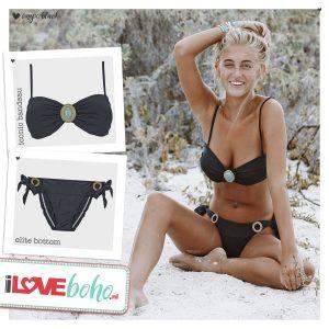 BOHO bikini's – iconic – zwart