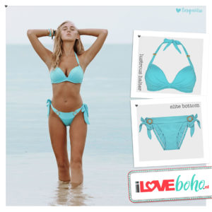 BOHO bikini's bottom – elite – turquoise