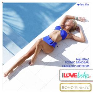 BOHO bikini's bottom – fabulous – lapiz blauw