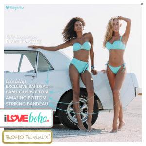BOHO bikini's bottom – amazing – turquoise