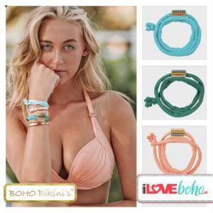 BOHO accessoires – armband – light coral
