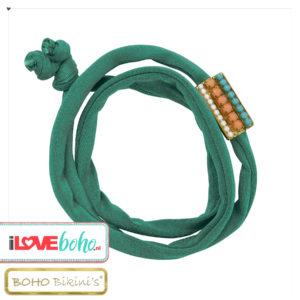 BOHO accessoires – armband – jade groen