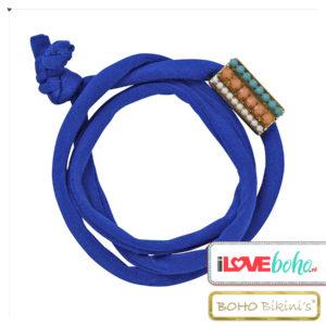 BOHO accessoires – armband – lapiz blauw