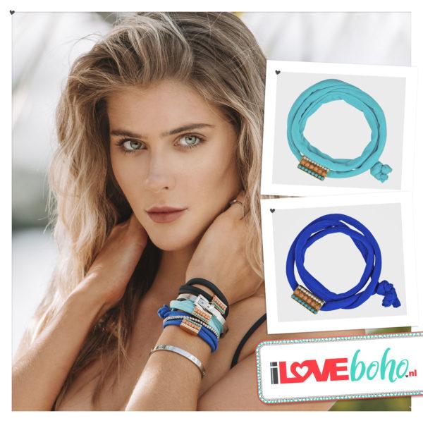 BOHO accessoires – armband – turquoise