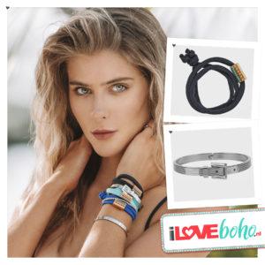 Charmin 's bracelet – ceinture – steel
