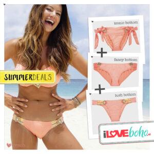 SUMMERDEAL - Bikini XS - Peach