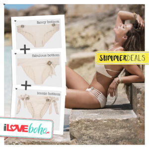 SUMMERDEAL - Bikini Bottoms XS - Ivory - Fabulous, Fancy & Iconic
